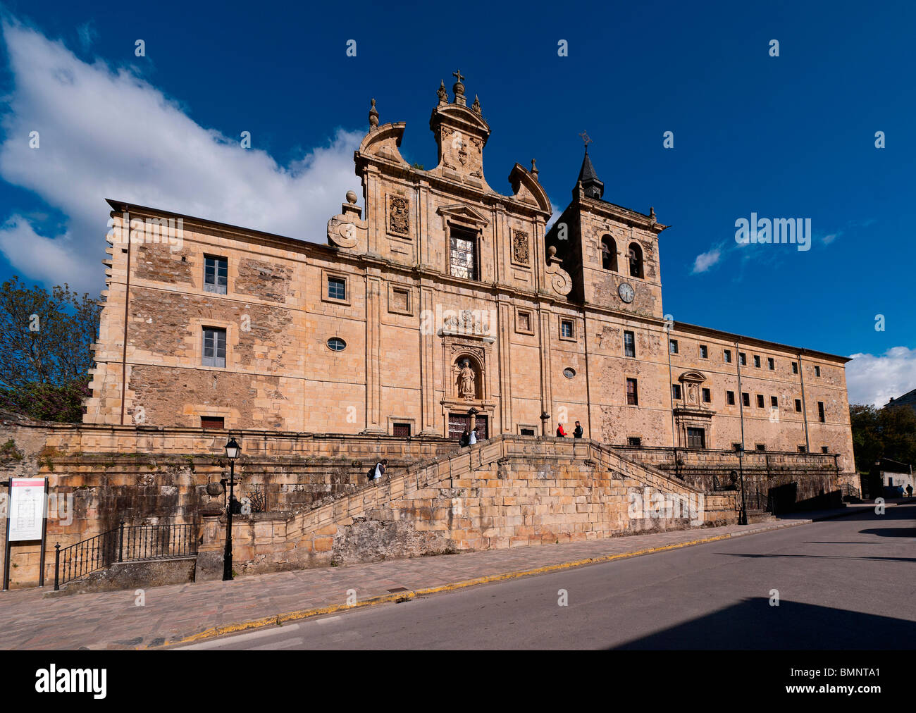 San Nicolas in villafranca del Bierzo - Stock Image