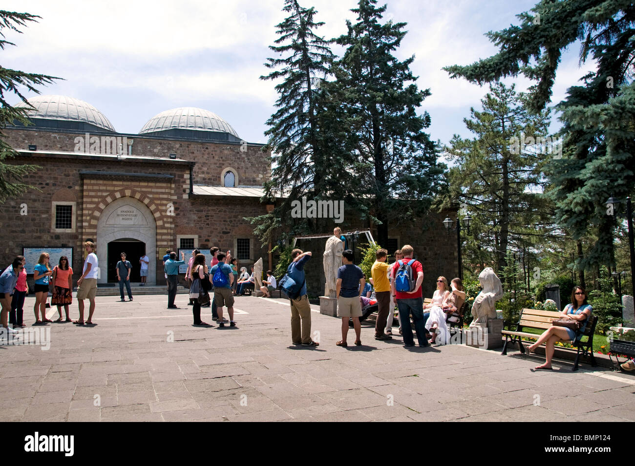 Museum of Anatolian Civilisations Ankara Turkey - Stock Image