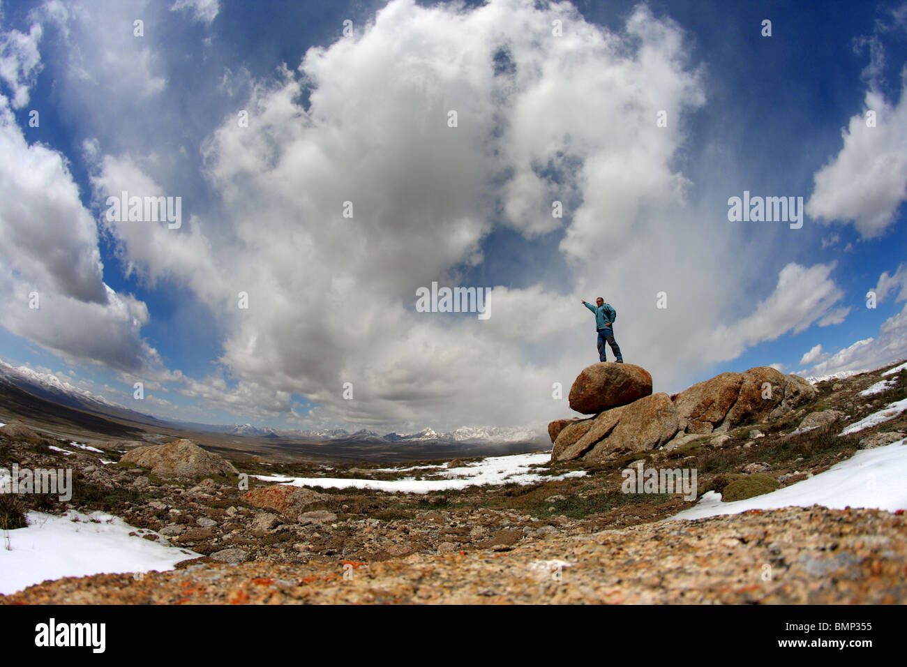 Tien-Shan, Kyrgystan, near Kyzyl Asker - Stock Image