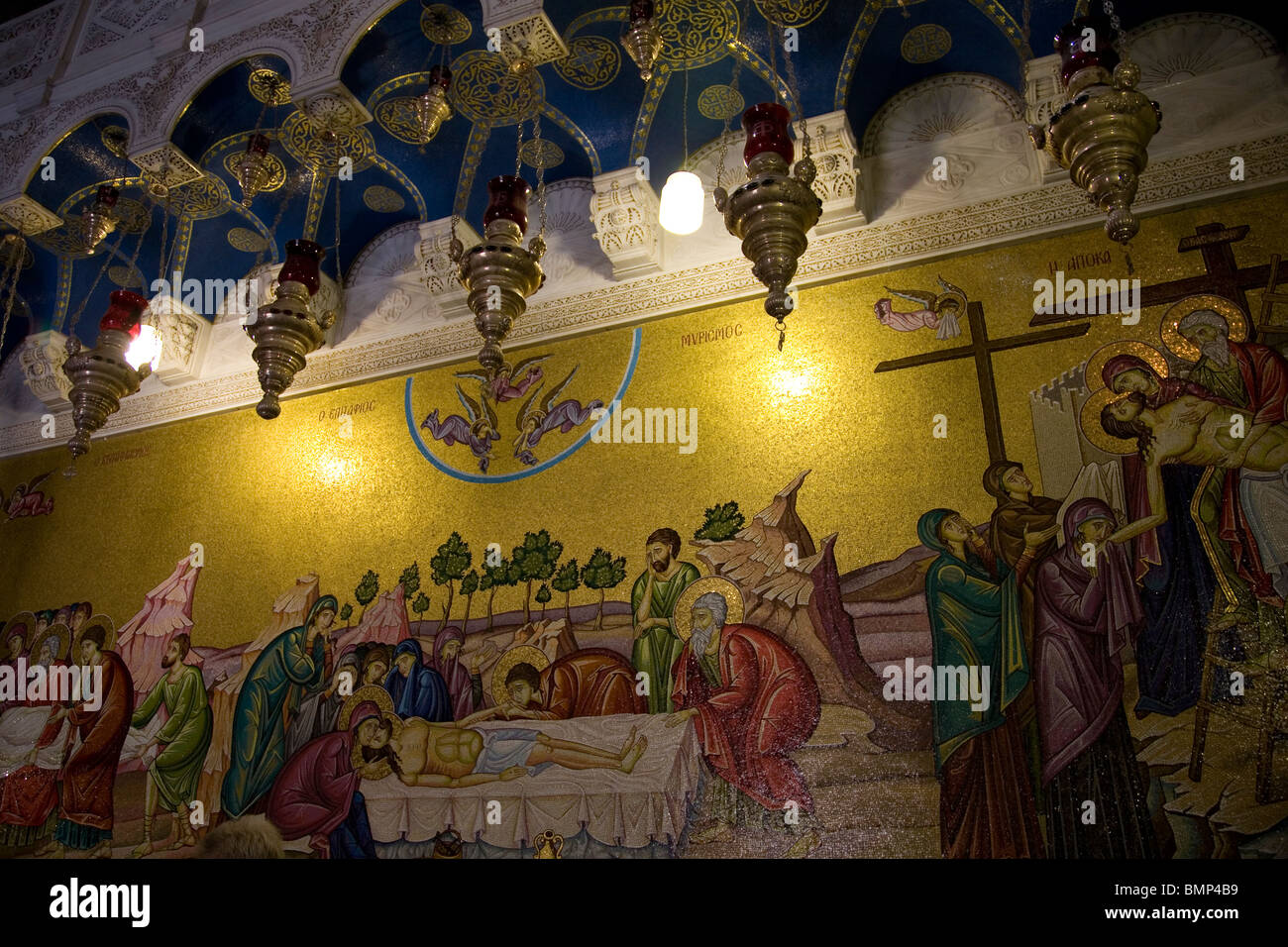 Jerusalem Wall Mosaic Stock Photos & Jerusalem Wall Mosaic Stock ...