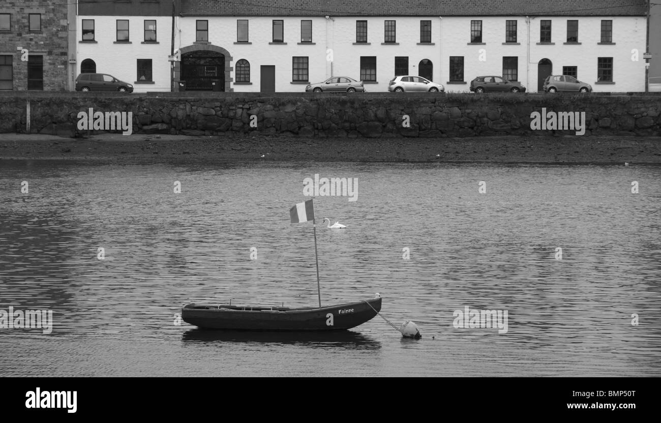 The Claddagh - the ancient and historic heart of Galway City, Rep of Ireland. - Stock Image