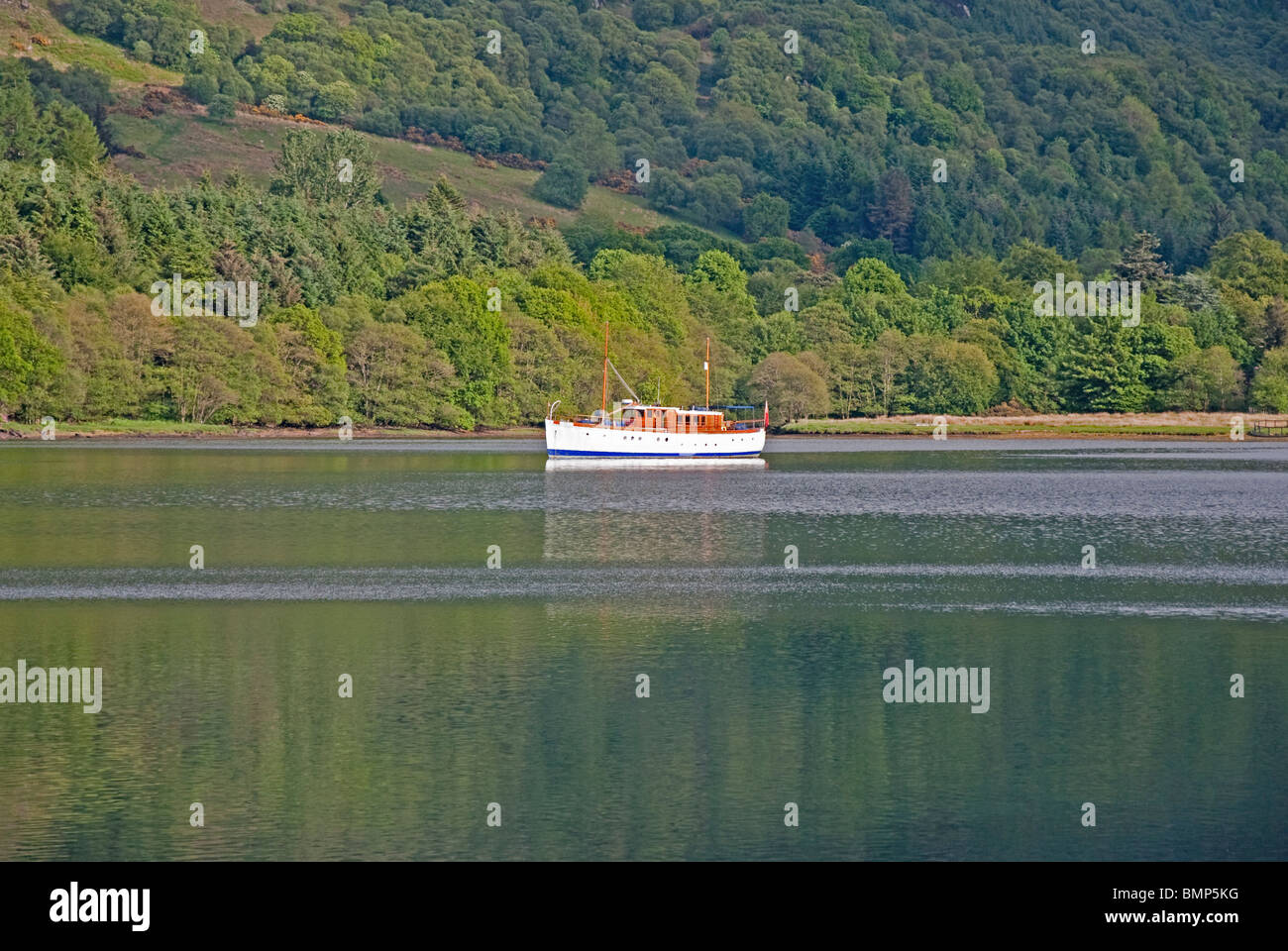 M.V. Chico Ardtaraig Loch Striven Argyll West Coast Scotland Stock Photo