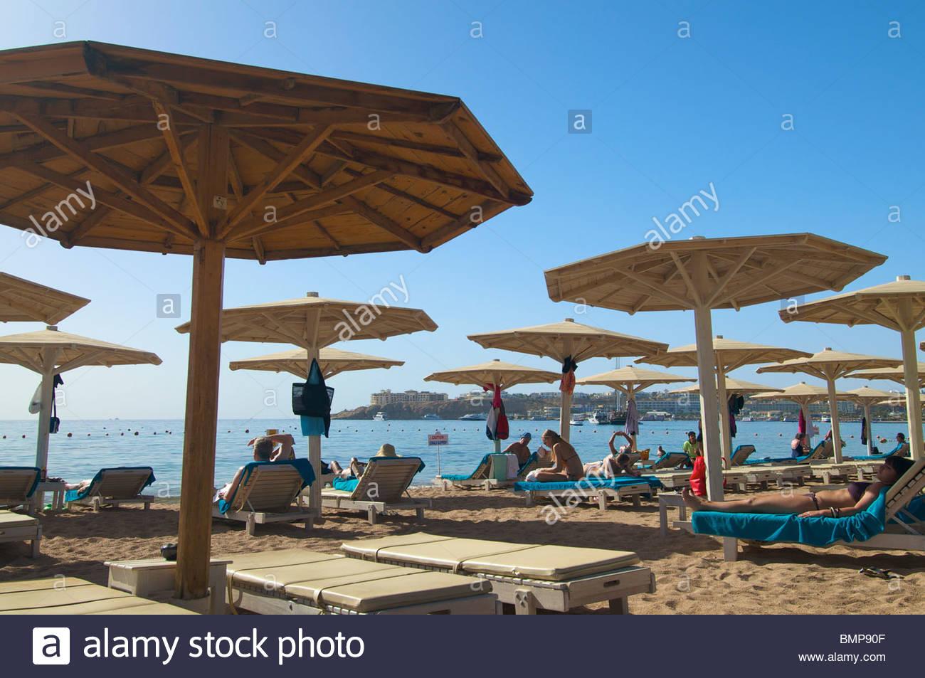Novotel Naama Bay Palm Hotel Naama Bay Sharm el Sheikh Egypt - Stock Image