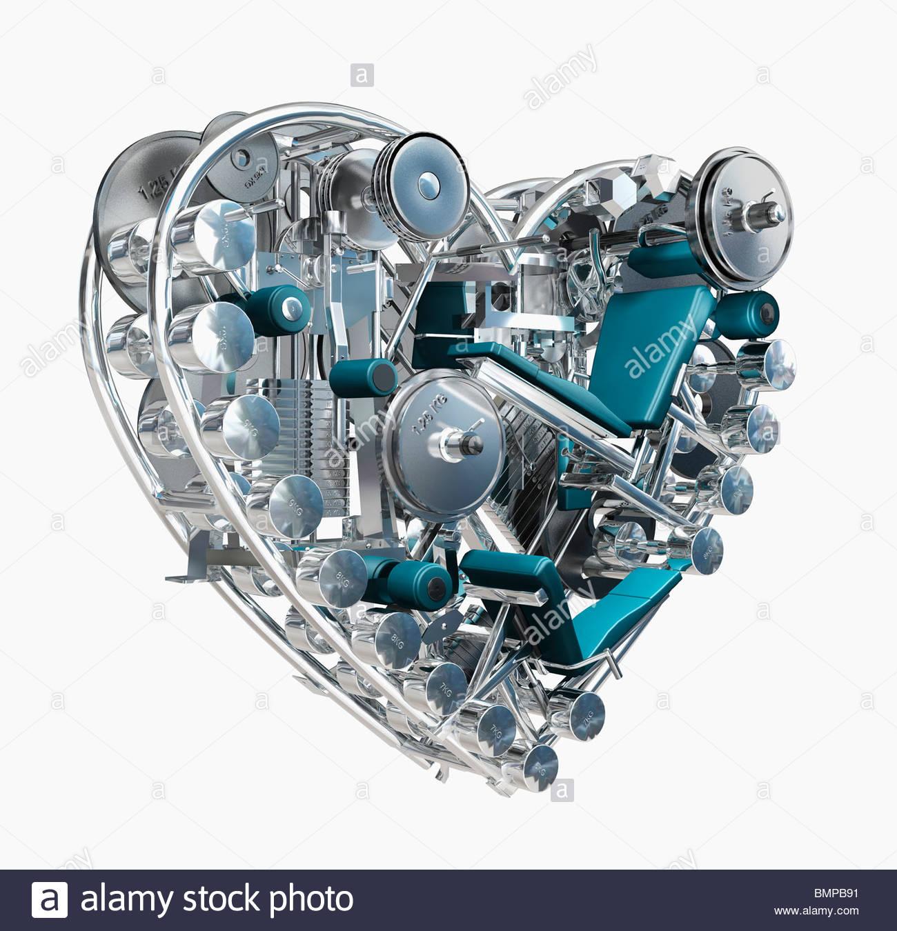 Metal Heart Stock Photos & Metal Heart Stock Images - Alamy