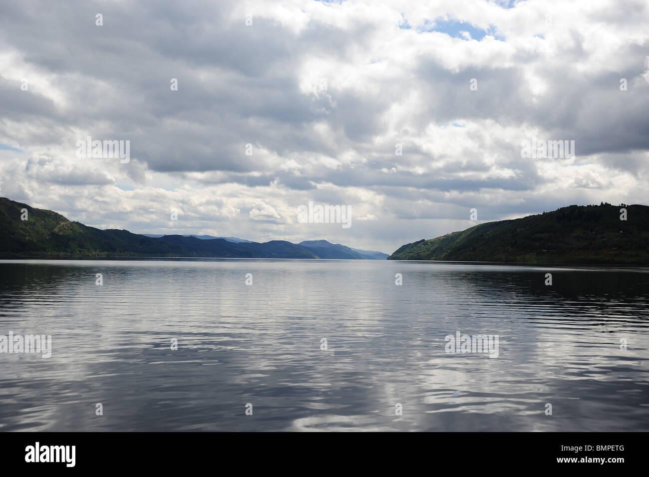 Views of Loch Ness - Stock Image