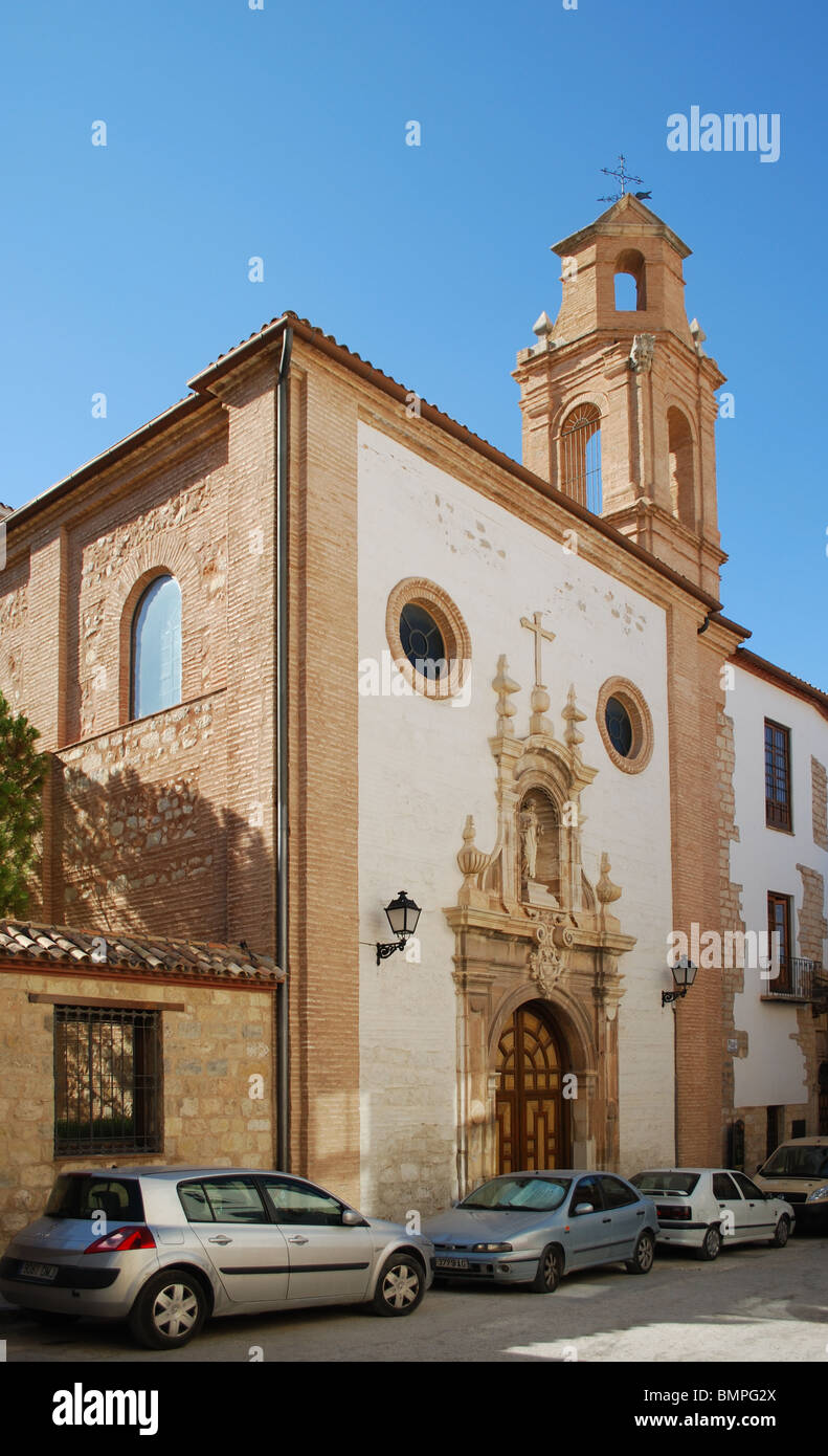 Church in the old town, Jaen, Jaen Province, Andalucia, Spain, Western Europe. - Stock Image