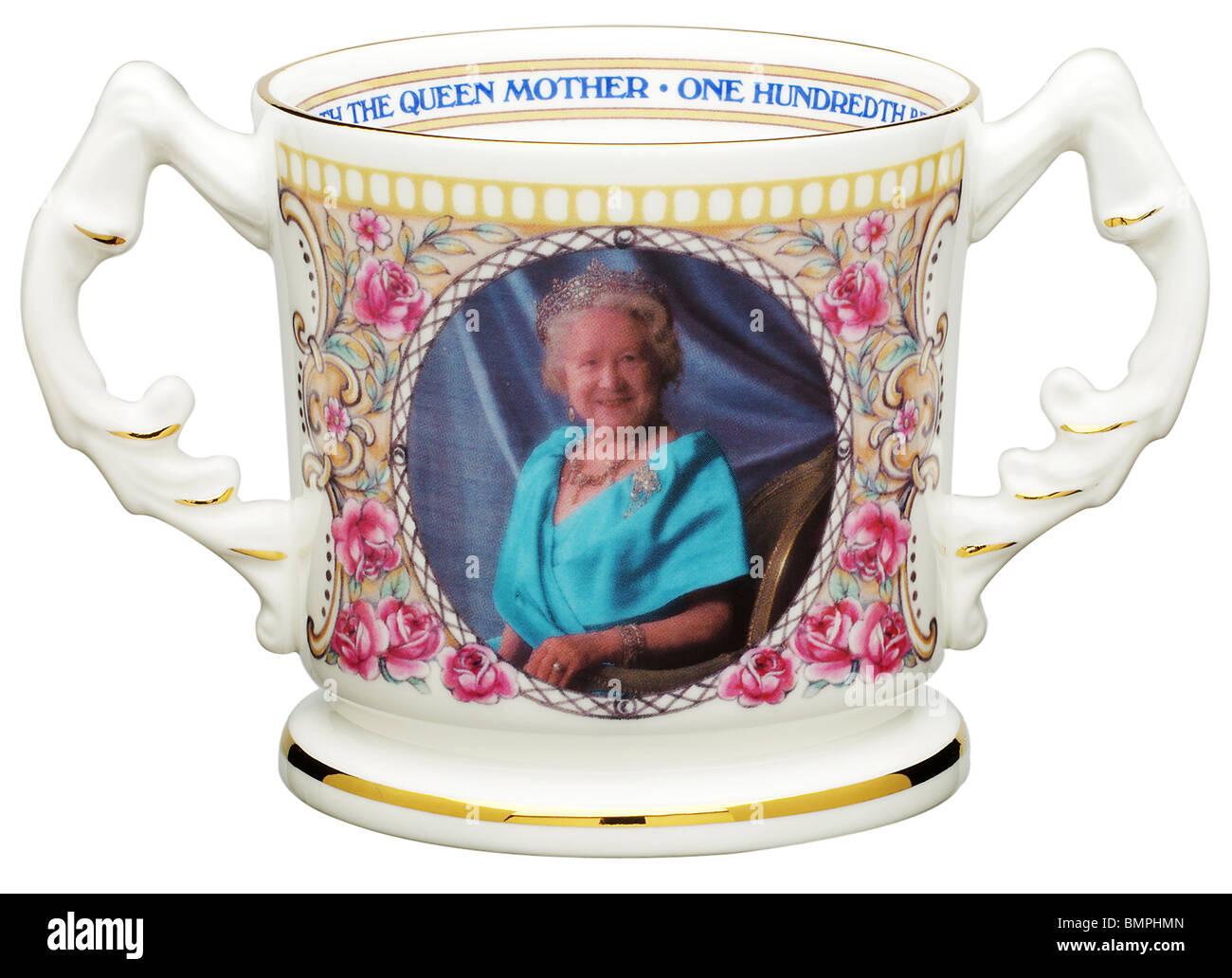Commemorative mug - Stock Image