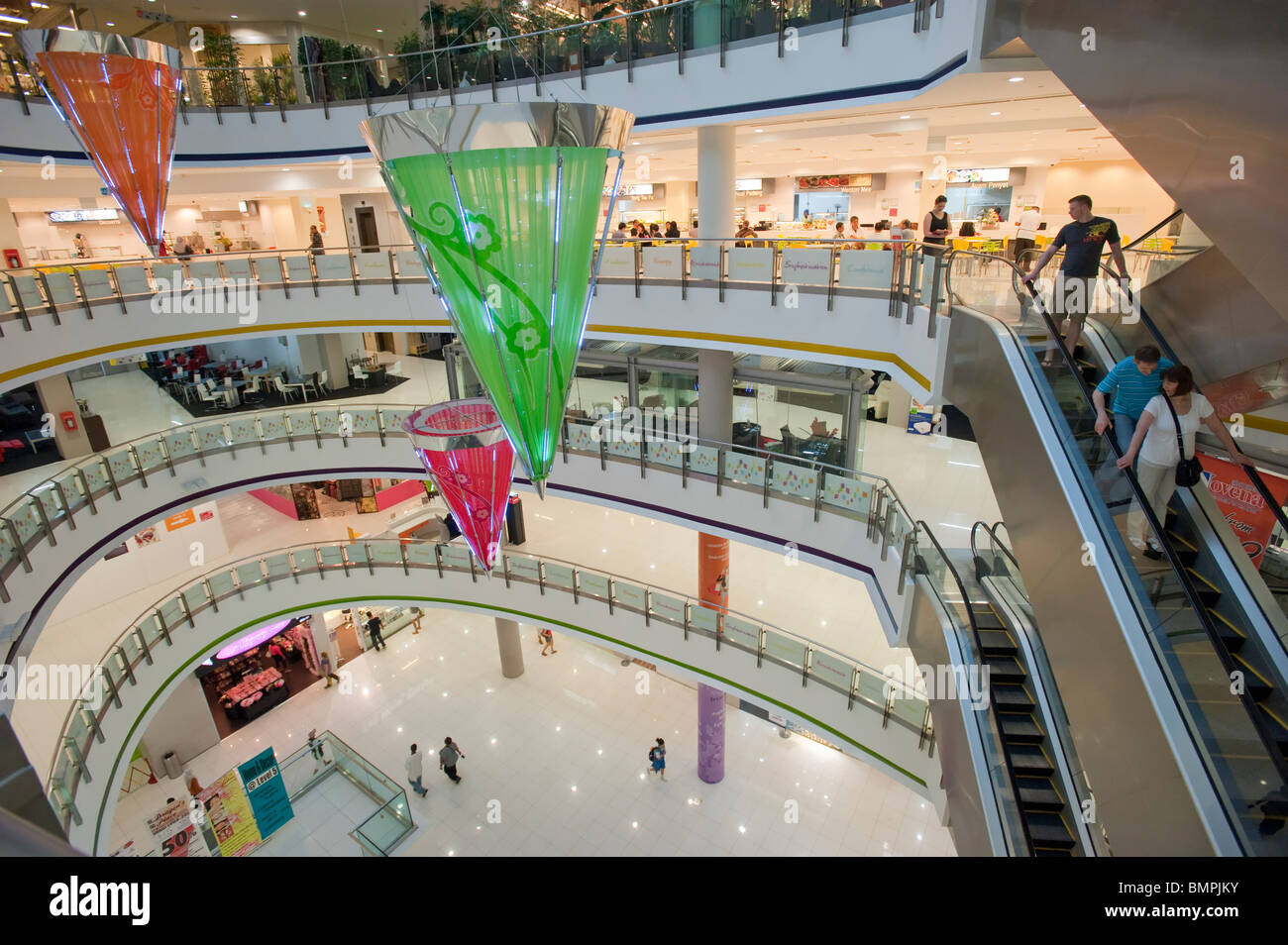 The Verge Shopping Centre in Little Indiqa - Stock Image