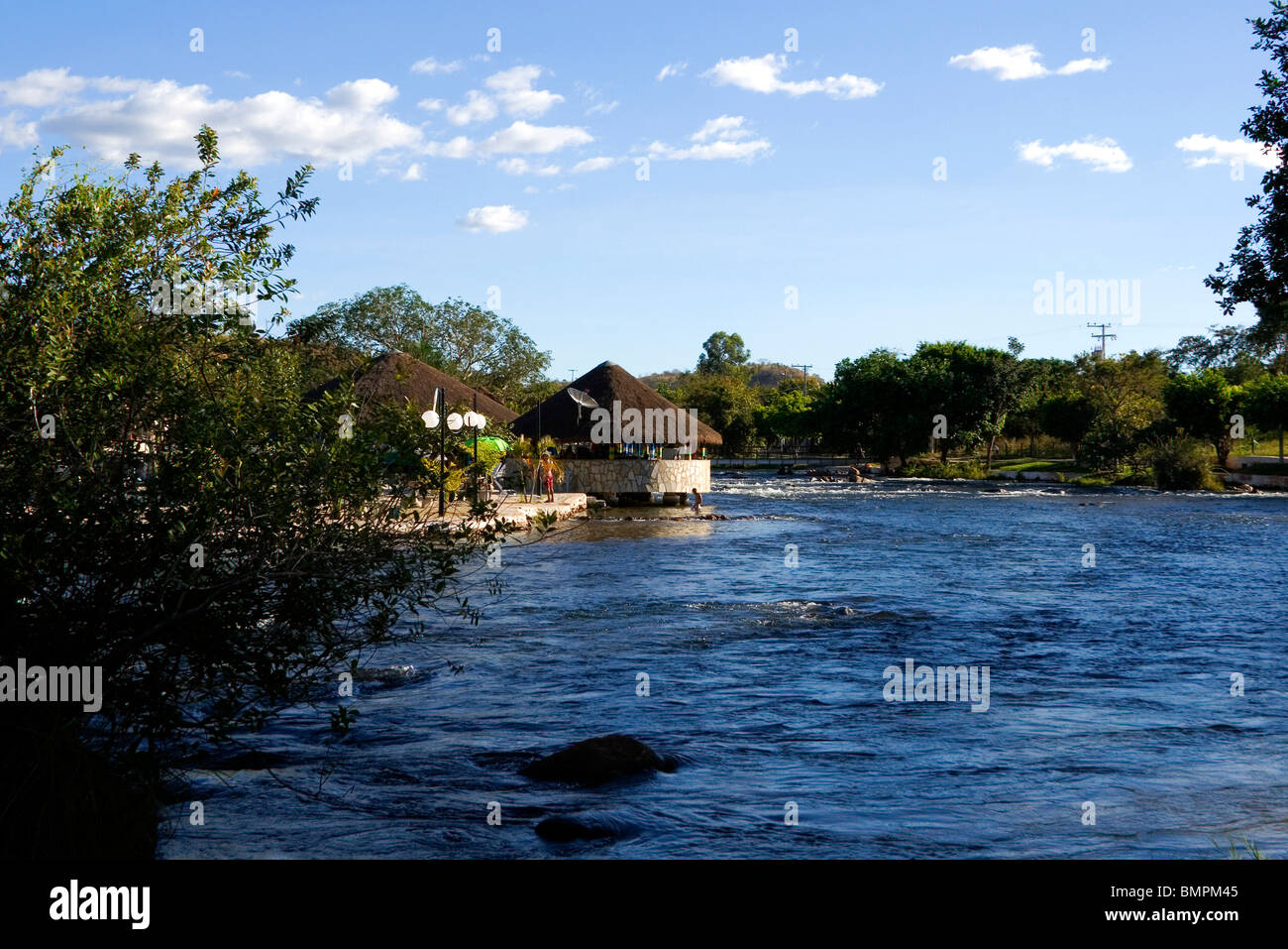 Ranchão (Big Ranch), Correntina, Bahia, Brazil - Stock Image