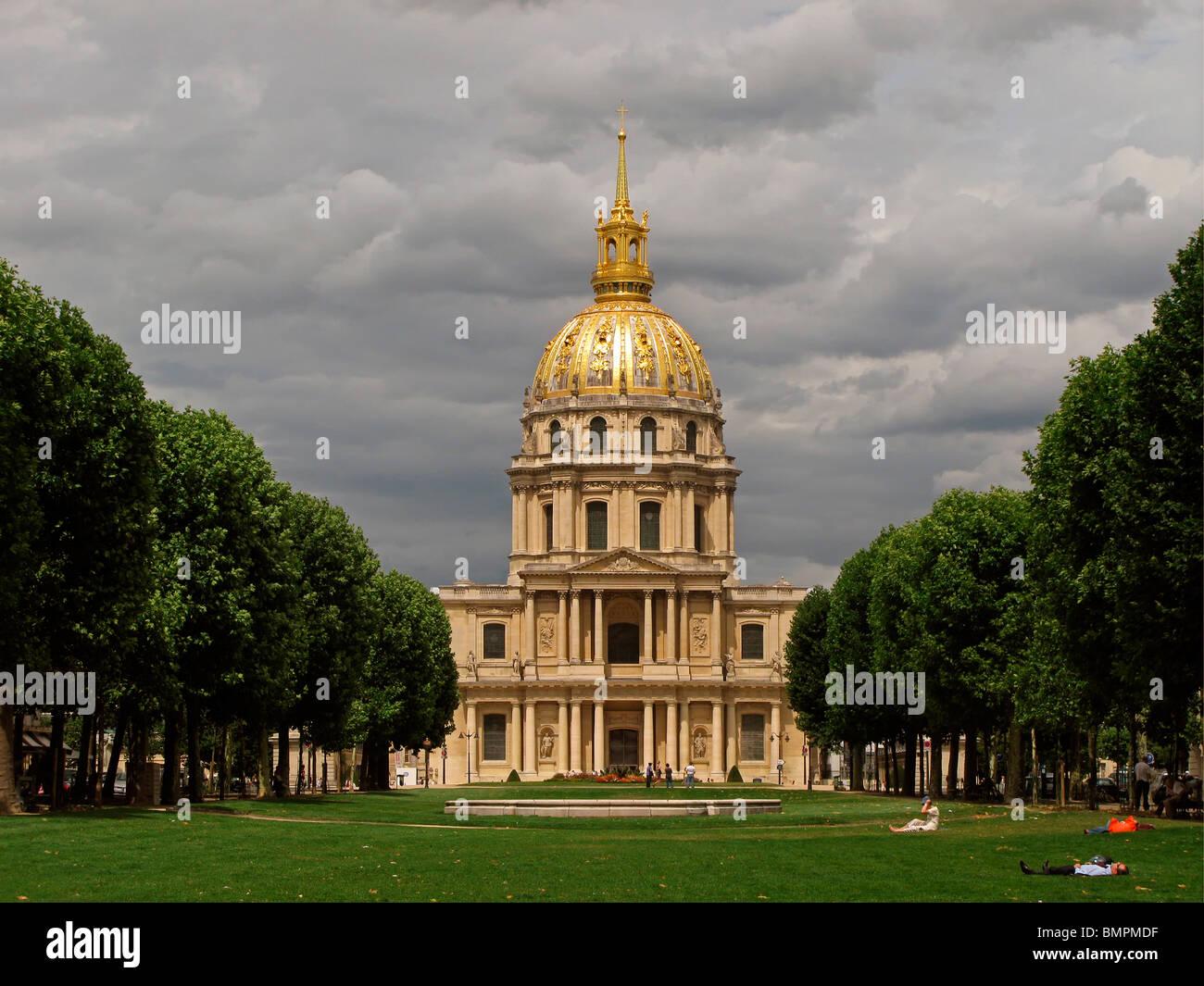 Les Invalides, Paris, France Stock Photo