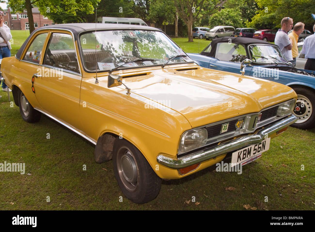 Vauxhall Viva HC classic car - Stock Image
