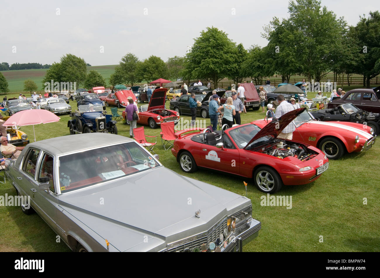 car show cars shows showing classic classic old restored well Stock ...