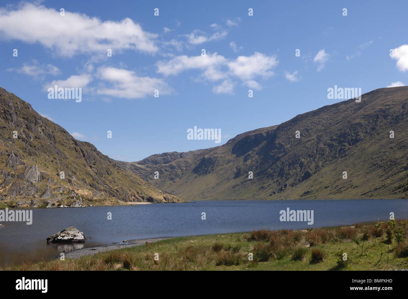 Glenbeg Lake, County Cork, Ireland - John Gollop - Stock Image