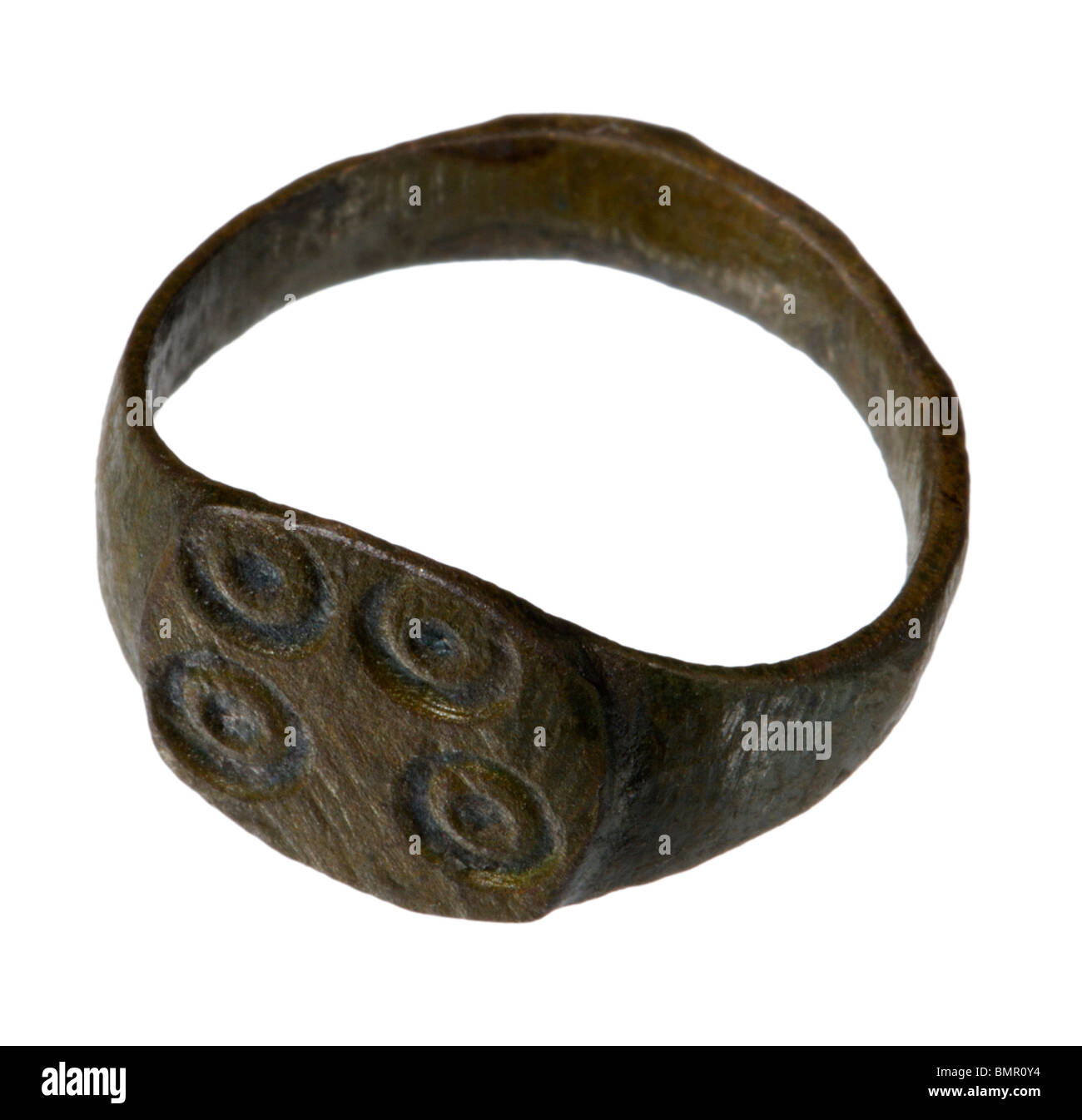 Ancient Roman Rings ancient roman bronze ring stock photo: 30009144 - alamy