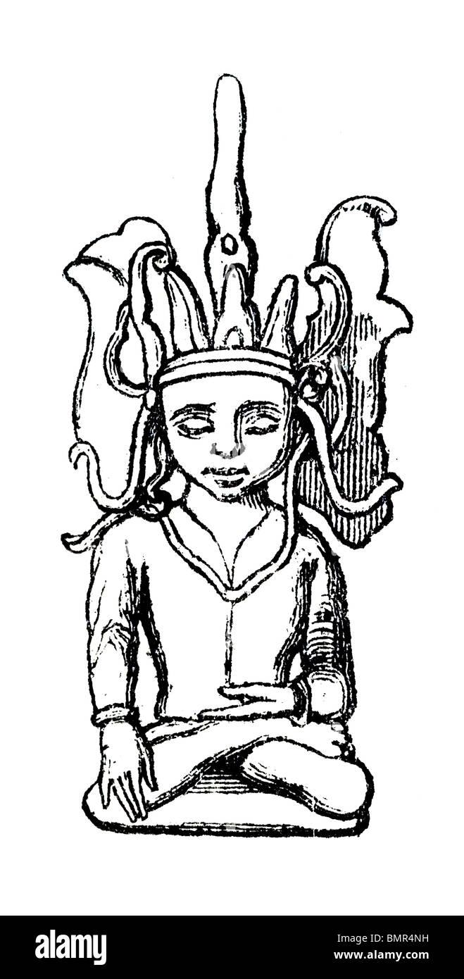 Vishnu - Stock Image