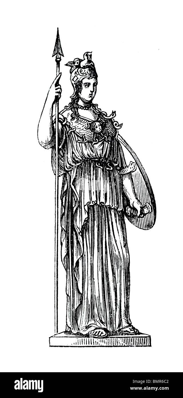 Minerva 2 - Stock Image
