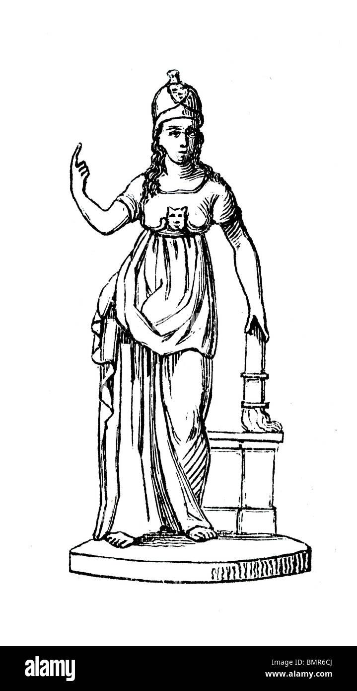 Minerva 4 - Stock Image
