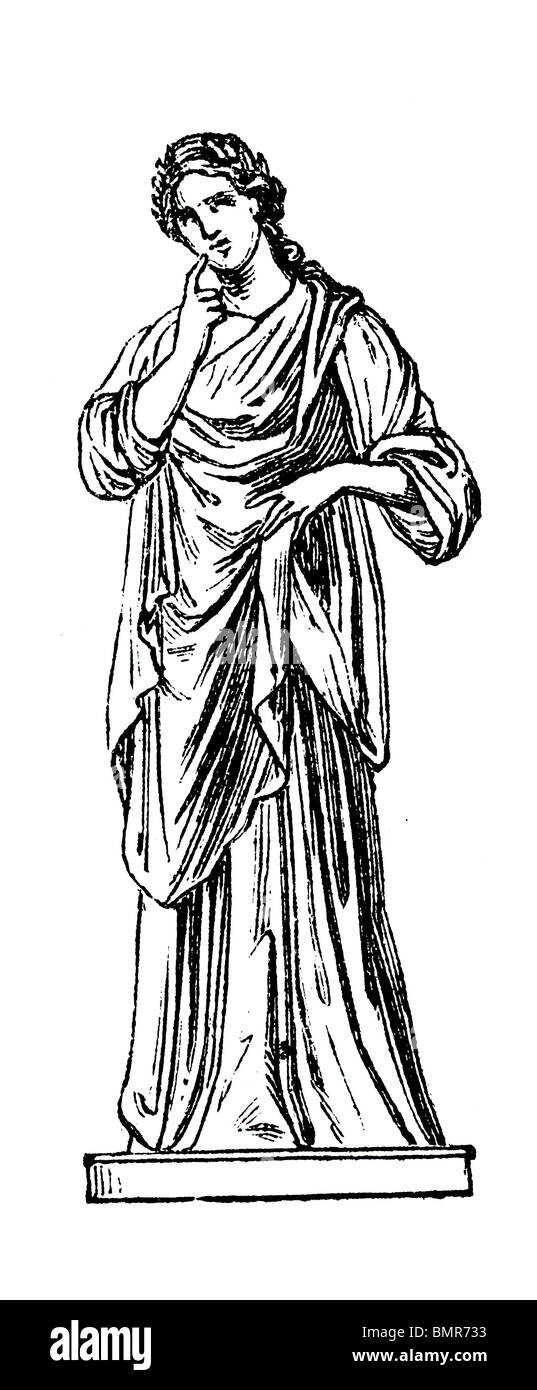 Polyhymnia - Stock Image