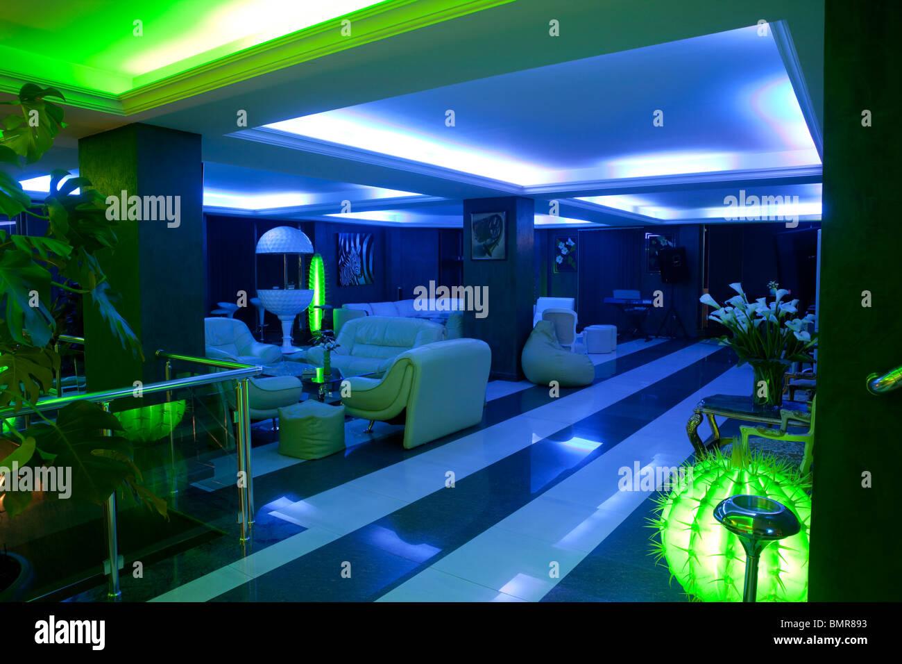 Hotel Batumi, Georgia - Stock Image