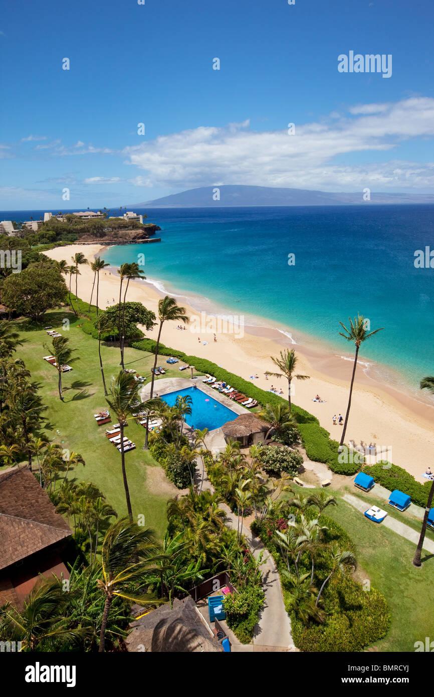 Kaanapali Beach Maui Hawaii Stock Photo 30018566 Alamy