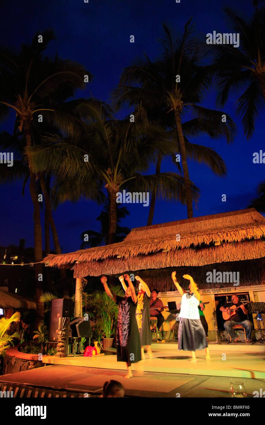 Nightly Hawaiian Hula Show Kaanapali Beach Hotel Kaanapali
