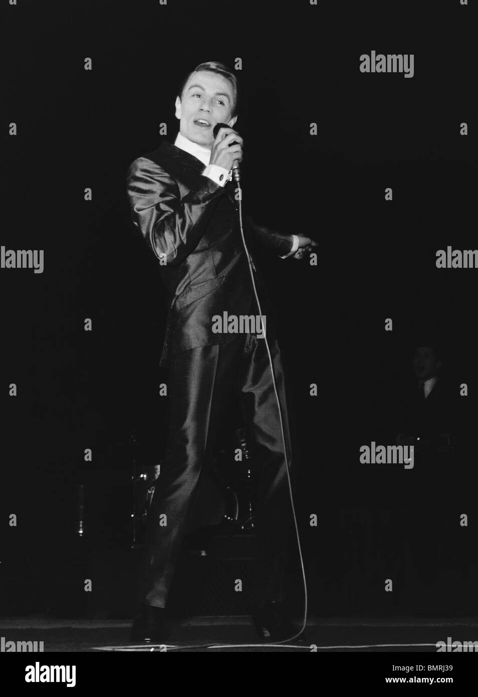 Adam Faith, photo Harry Hammond. UK, 1960 - Stock Image