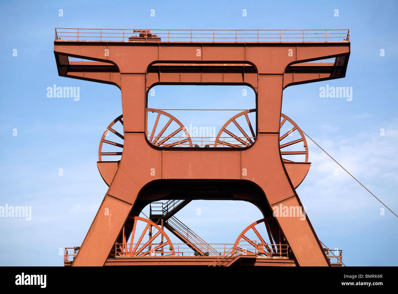 Zollverein Coal Mine Industrial Complex, UNESCO World Heritage Site, Essen, Germany - Stock Image