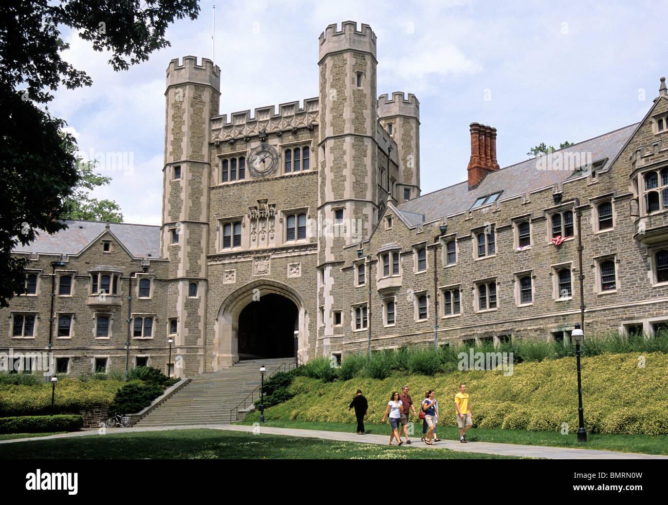 Princeton College Campus Students Stock Photos & Princeton College ...