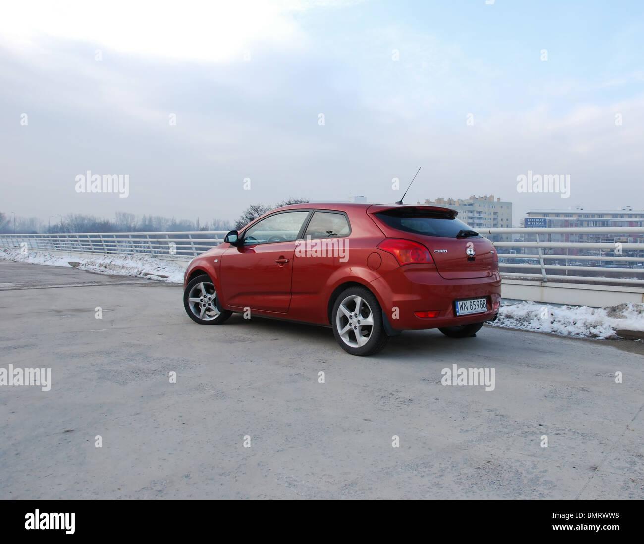 Kia Pro Ceed 1 Stock Photos Images Alamy 16 Crdi My 2009 Infra Red Metallic 3d
