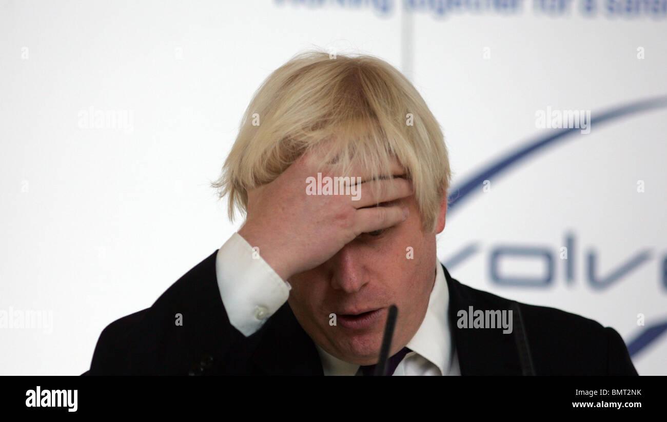 boris johnson mayor of london Stock Photo