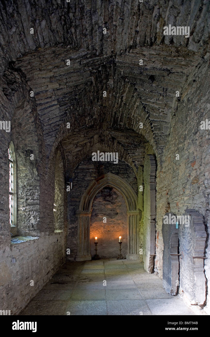Estonia,Tallinn,Dominican Monastery Claustrum Stock Photo