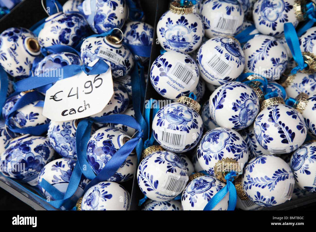 Delft Pottery - Stock Image