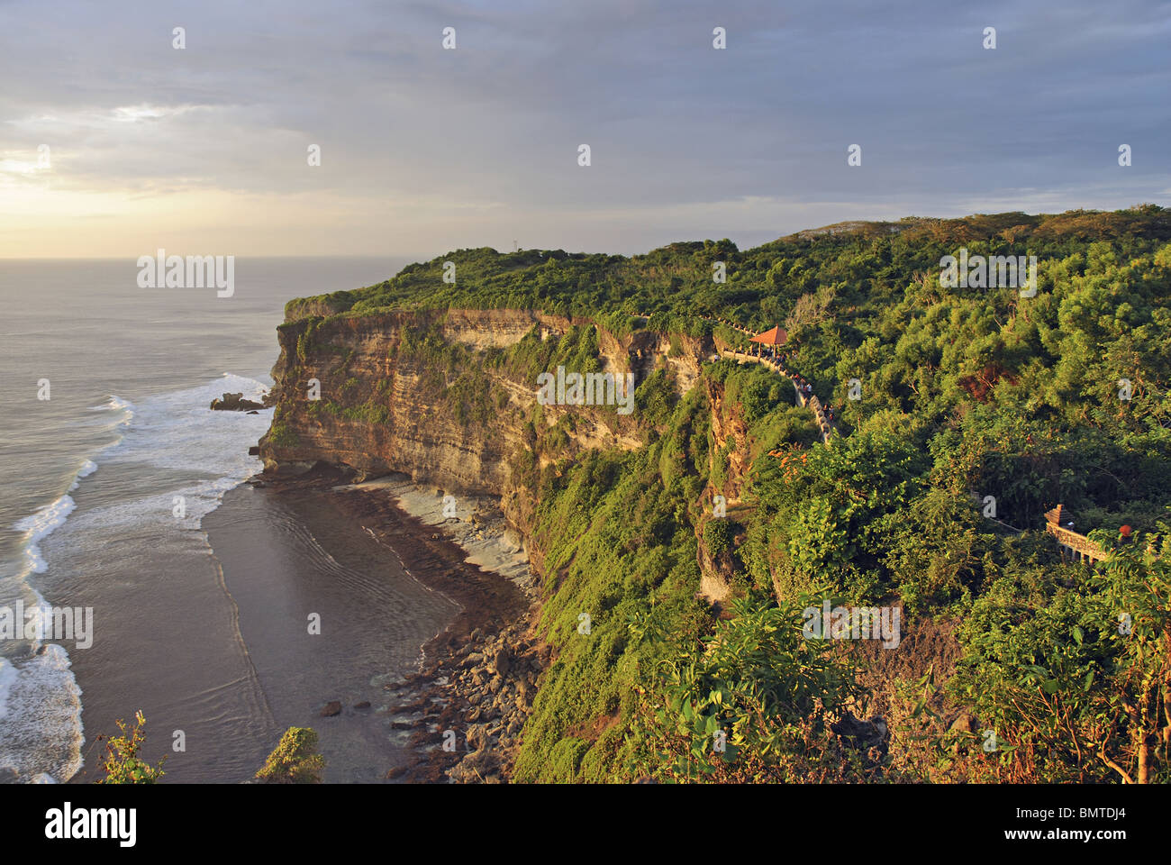 Indonesia-Bali, General-View of limestone table land of Bukit Peninsula at 200mts above sea level. General-View - Stock Image