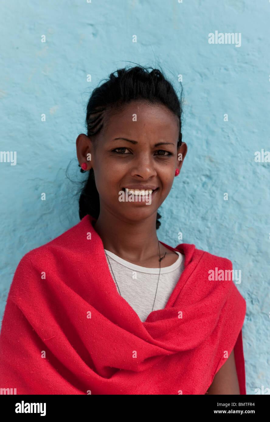 Africa. Ethiopia. Gonder. Stock Photo