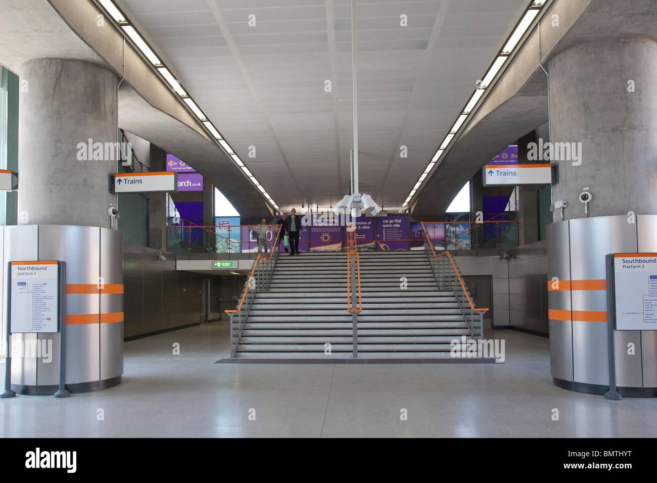New Shoreditch High Street Station,  London Overground TFL - Stock Image