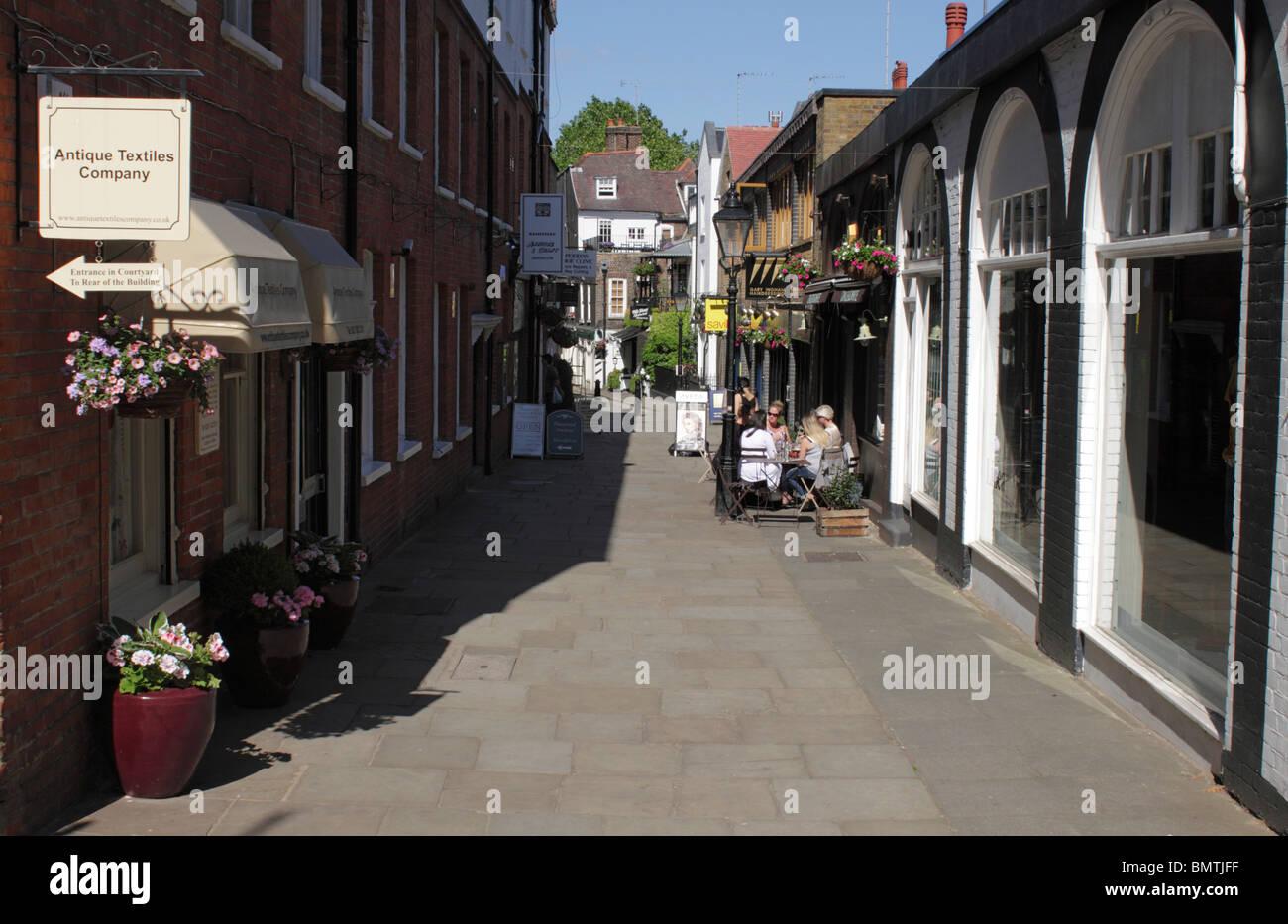 Perrin's Court Hampstead London June 2010 Stock Photo