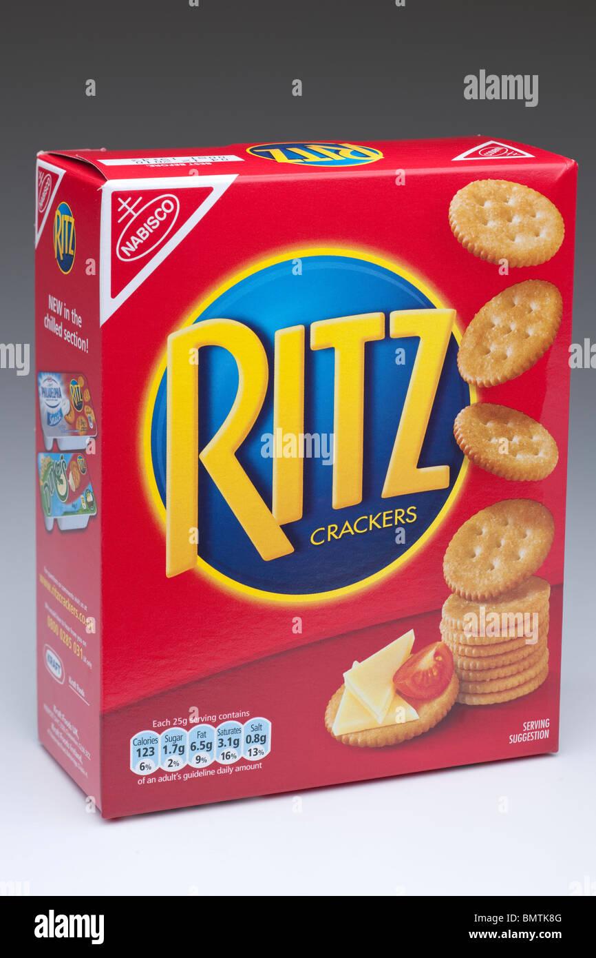 ritz crackers stock photos & ritz crackers stock images - alamy