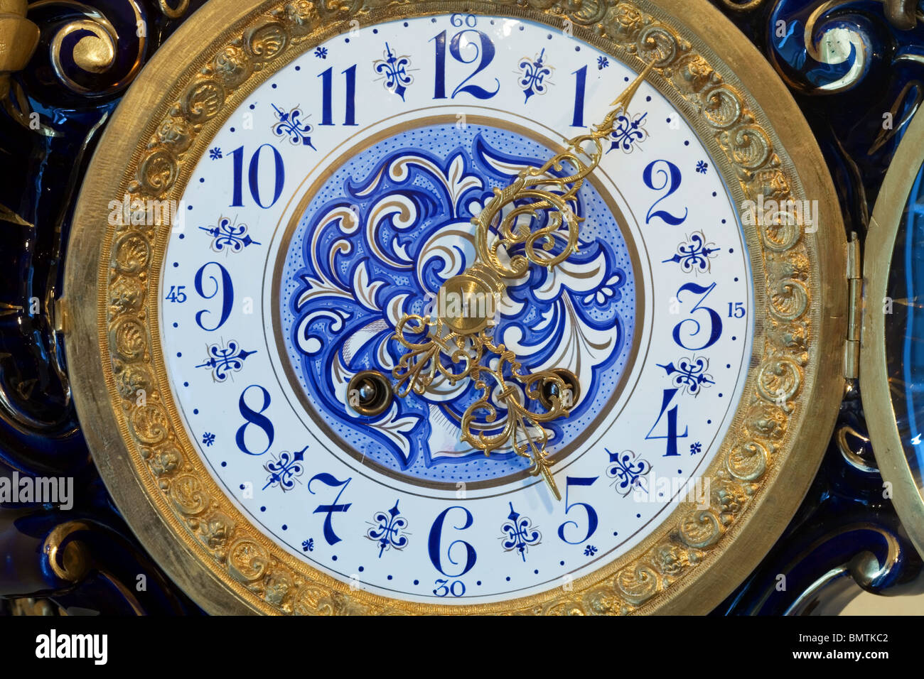 Vintage Table or Long Case Clock - Stock Image