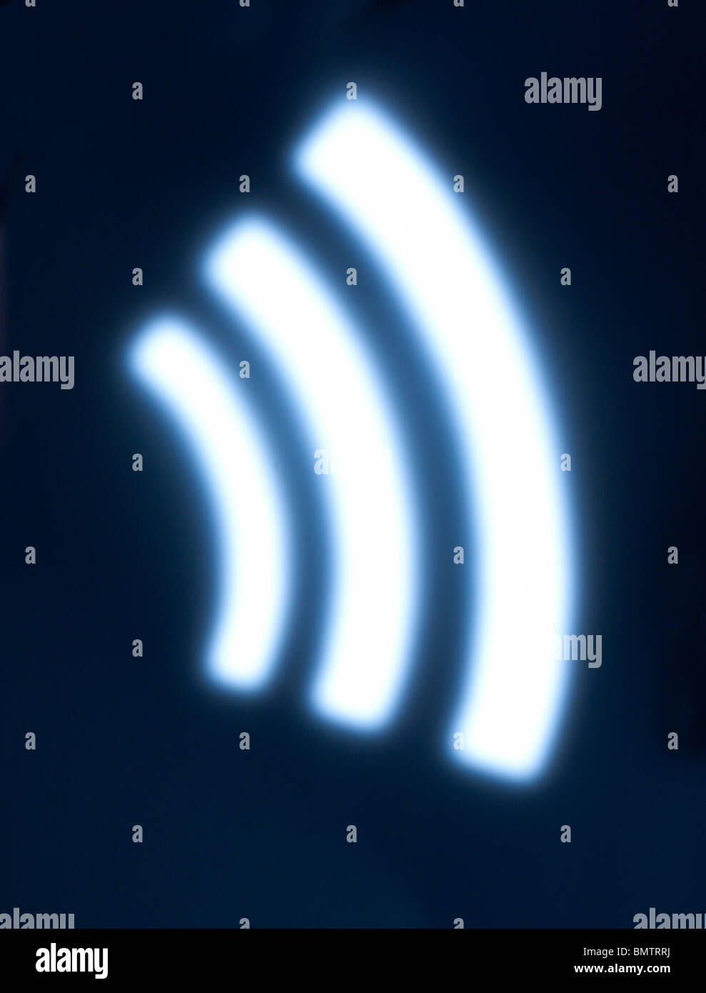 Wireless wifi wi fi - Stock Image