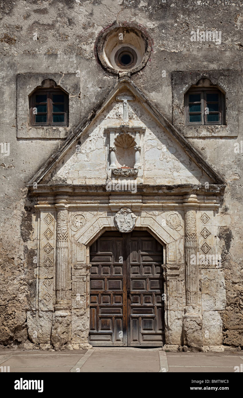 Ordinaire Door To The Mission Concepcion San Antonio Texas USA