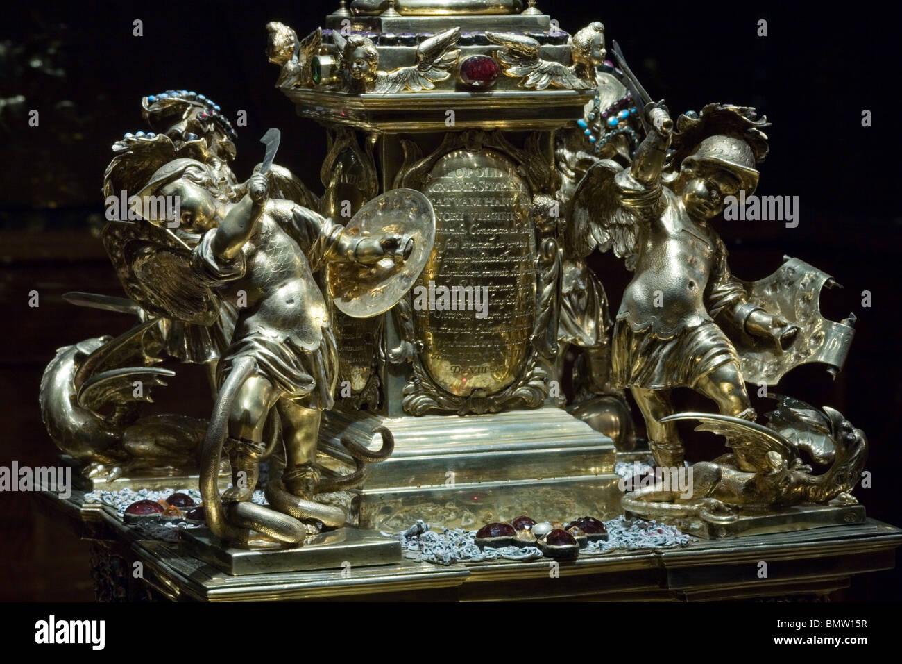 Baroque sculpture - Stock Image