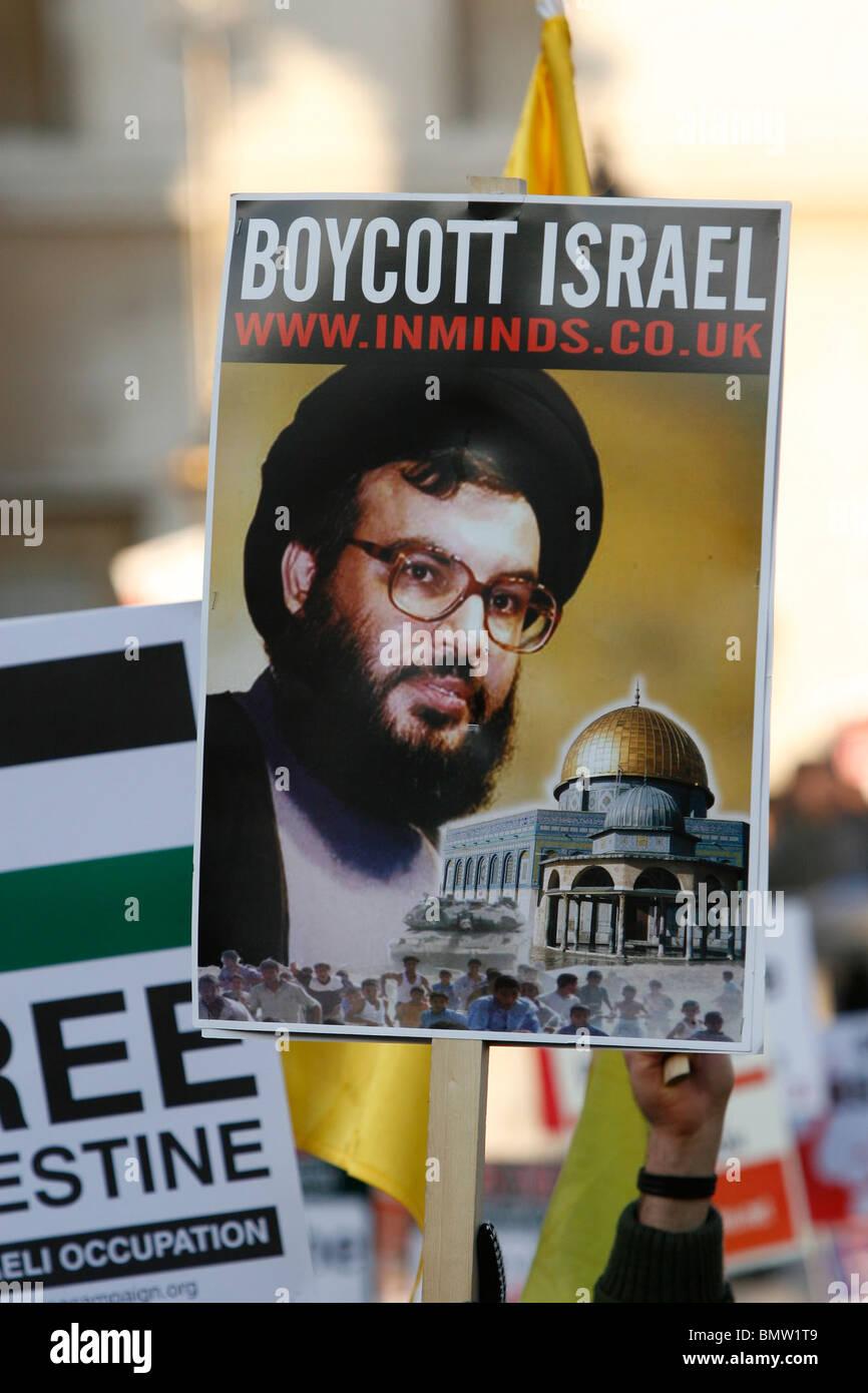 Free Palestine - Stock Image