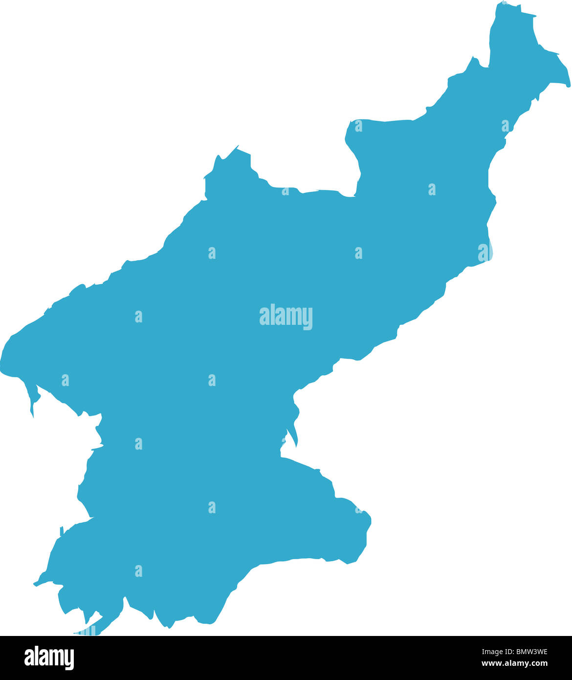 There is a map of north korea country stock photo 30055354 alamy there is a map of north korea country gumiabroncs Images