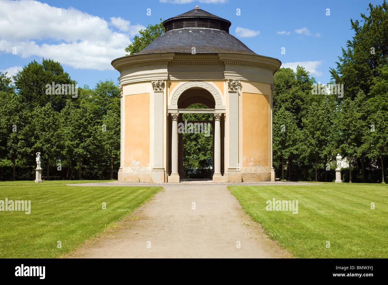 Schloss Rheinsberg, Brandenburg, Germany - Salon - Stock Image