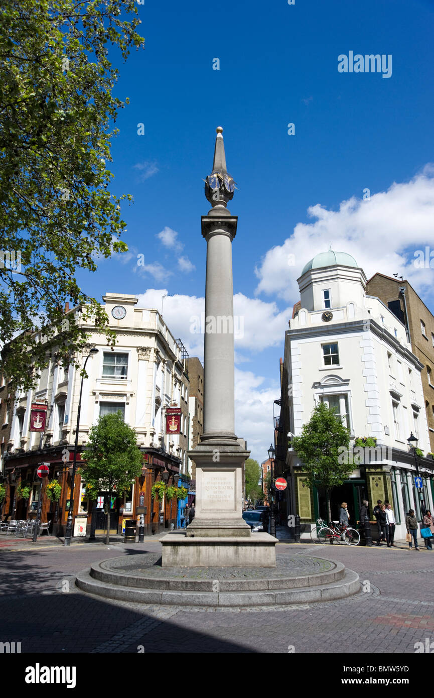 Seven Dials near Covent Garden, London, England, UK - Stock Image
