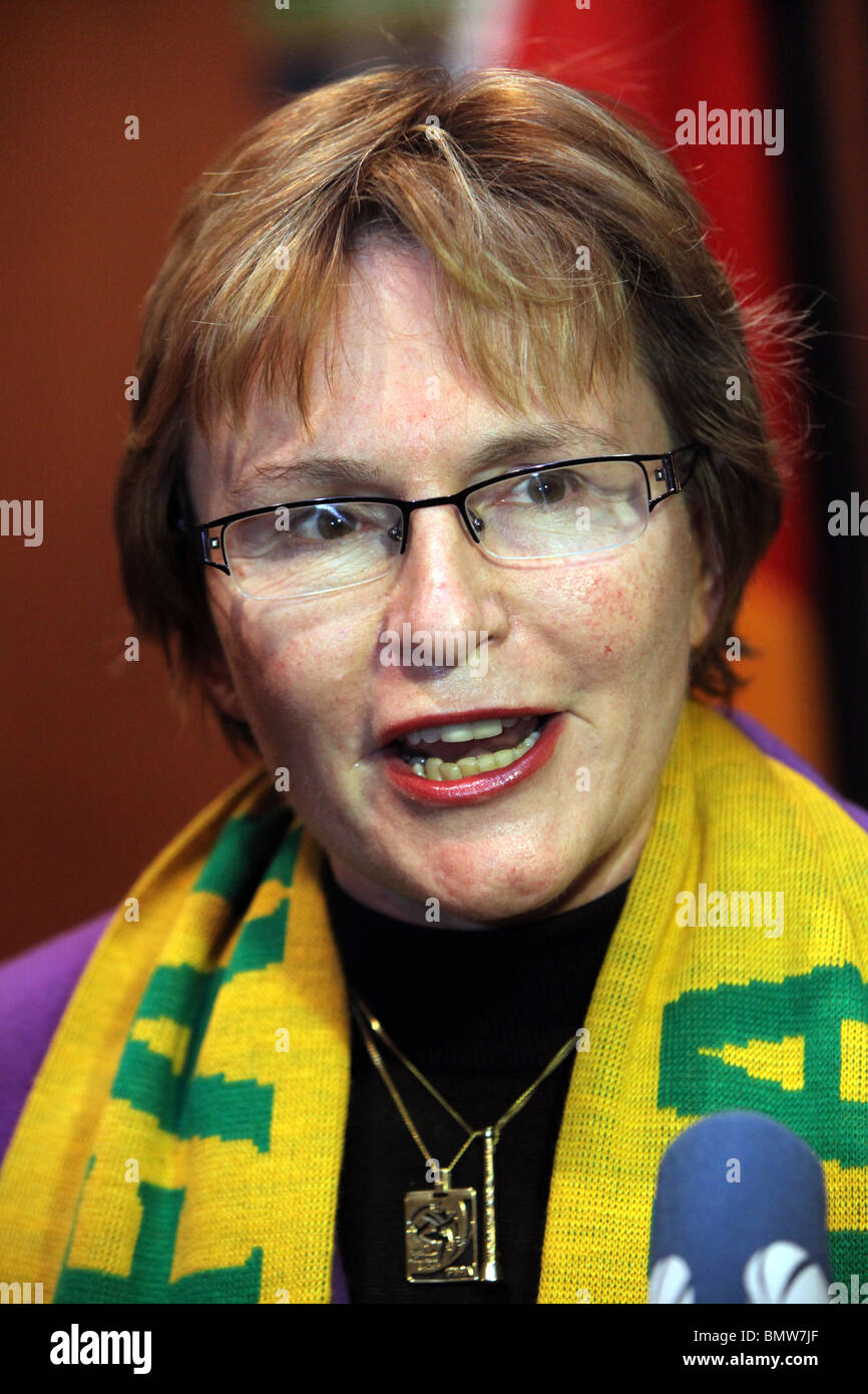 Western Cape Premier HELEN ZILLE, Cape Town - Stock Image