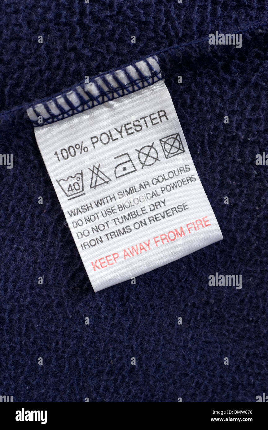 This is a graphic of Nerdy Fabric Care Labels Uk
