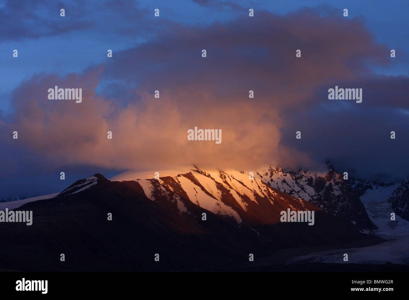 Tien Shan Mountains, Kyrgystan - Stock Image