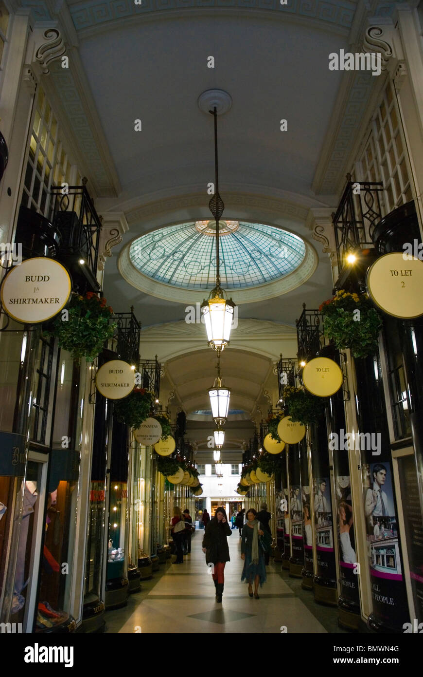 Piccadilly Arcade central London England UK - Stock Image
