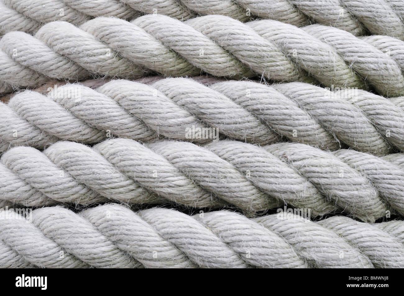 Rope, London, United Kingdom - Stock Image
